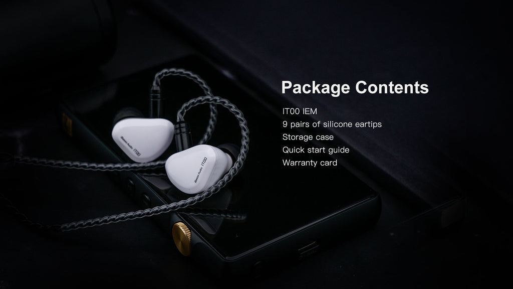 iBasso IT00 In-Ear Monitor Headphones | Available on Headphones.com