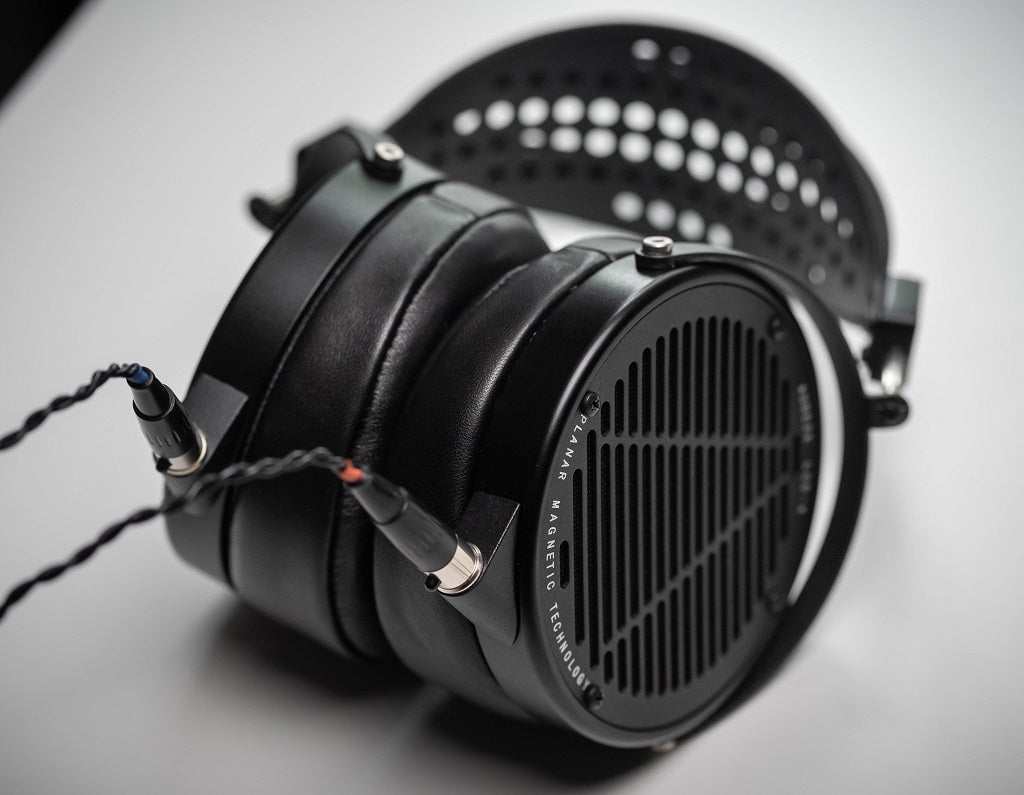 Audeze LCD-X Planar Magnetic Studio Headphones with Carbon Fibre Suspension System Headband | Available on Headphones.com