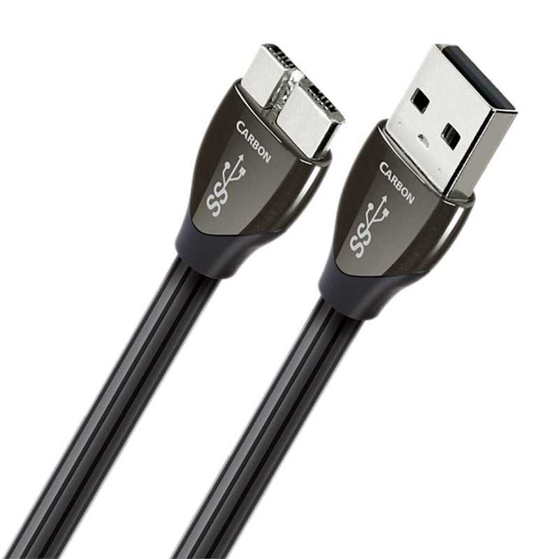 AudioQuest Carbon USB Digital Interconnect Cables AudioQuest USB A 3.0 to Micro 3.0 0.75M