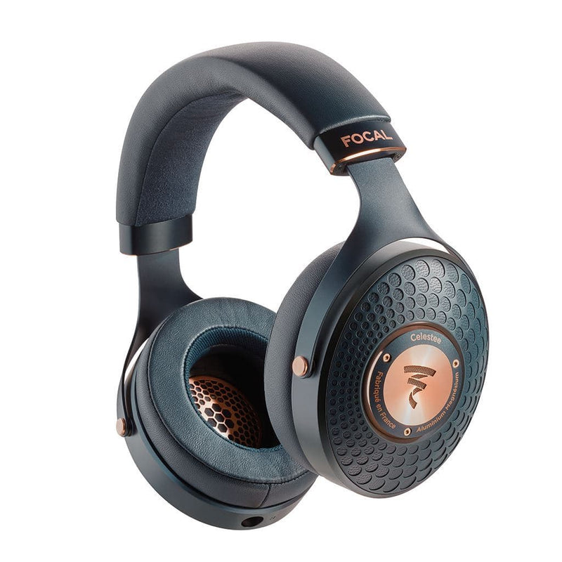 Focal Celestee Closed-Back Over-Ear Headphone manufactured in France with 3.5mm Cable | Available on Headphones.com