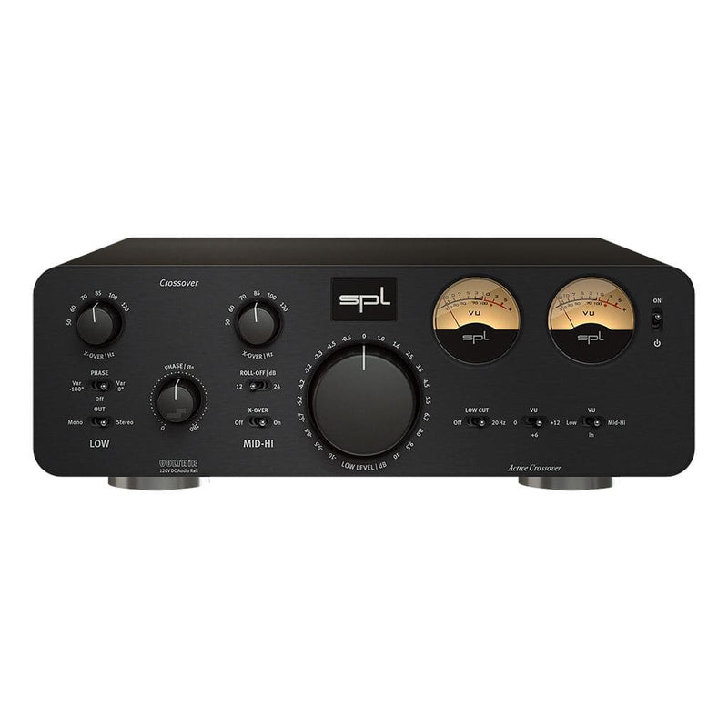 SPL Crossover Active Analog 2-Way Crossover Crossover SPL Black