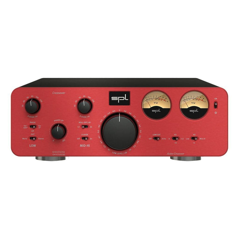 SPL Crossover Active Analog 2-Way Crossover Crossover SPL Red