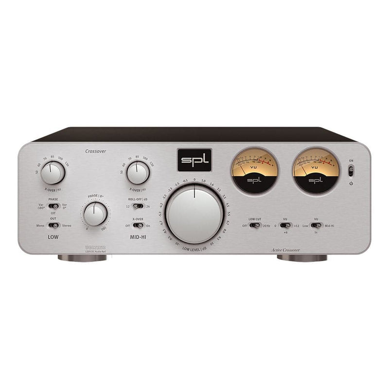SPL Crossover Active Analog 2-Way Crossover Crossover SPL Silver