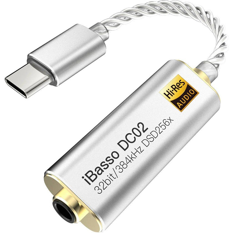 iBasso DC02 3.5mm to USB Type C DAC DACs iBasso