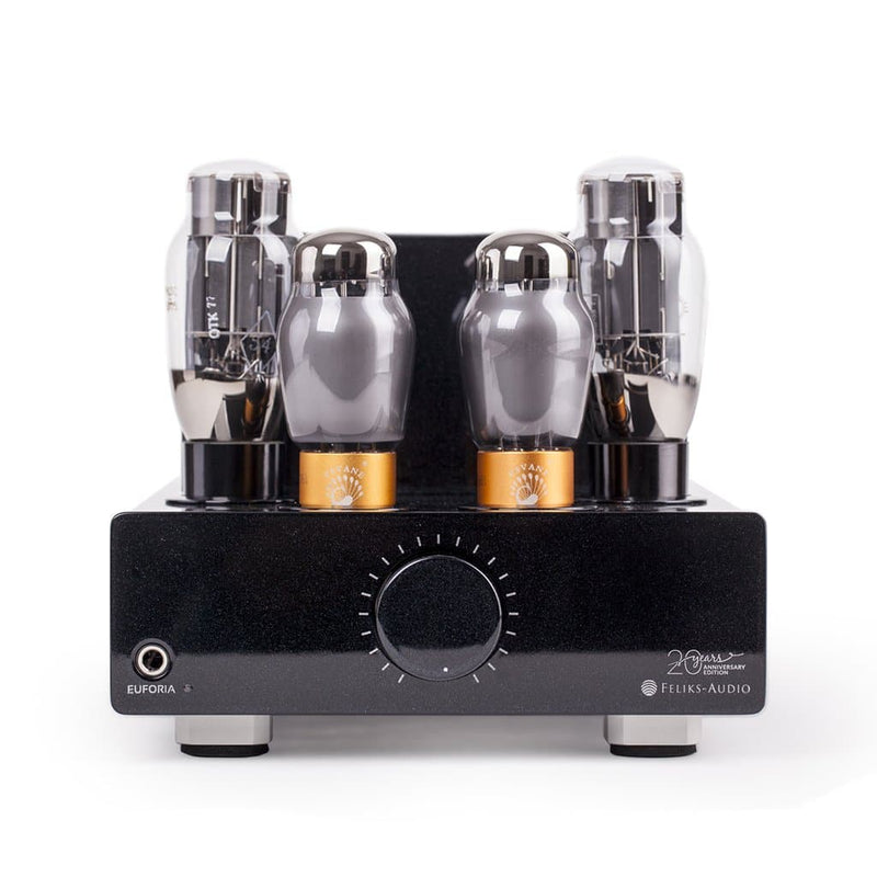 Feliks Audio Euforia 20th Anniversary Edition Desktop Headphone Tube Amplifier and Pre-Amp | Available on Headphones.com