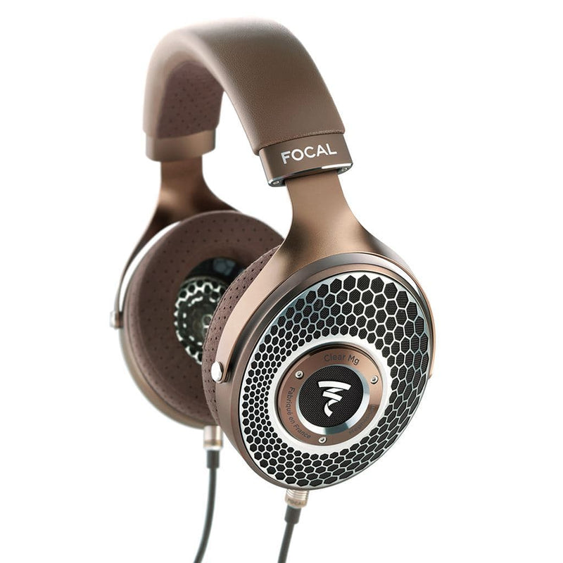 Focal Clear Mg Dynamic Open-Back Over-Ear Headphones Handcrafted in France | Available on Headphones.com