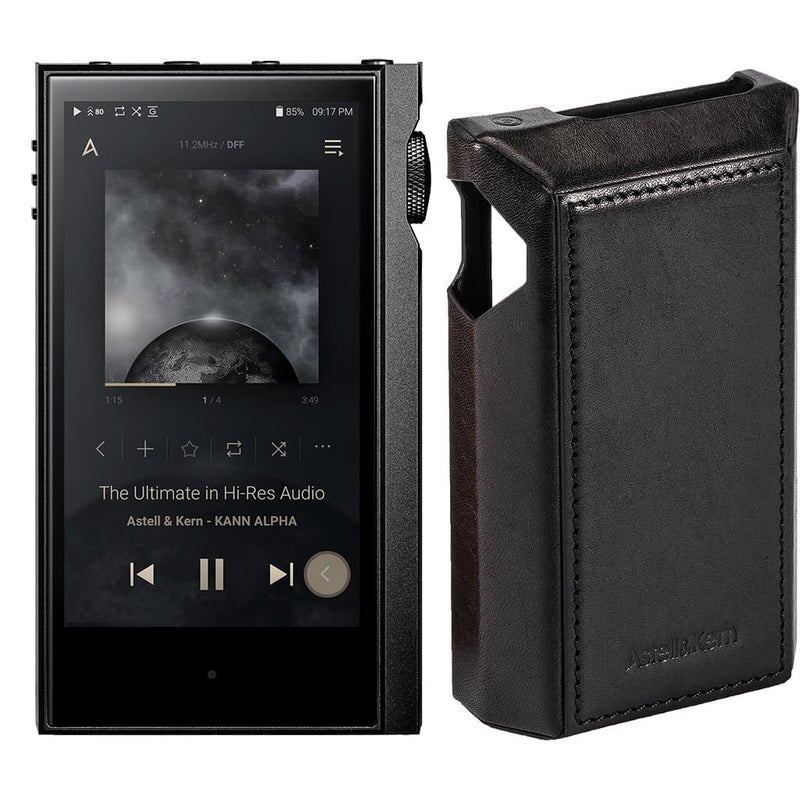 Astell&Kern Kann Alpha + Leather Case Bundle Portable Music Players Astell&Kern