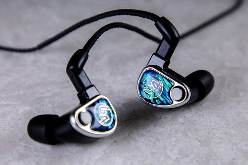 64 Audio Nio earphones made in vancouver, wa