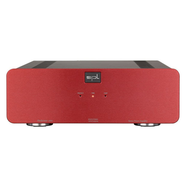 SPL Performer s800 Stereo Power Amp Headphone Amplifiers SPL Red
