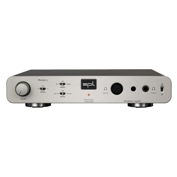 SPL Phonitor E Headphone Amp Headphone Amplifiers SPL Silver Without DAC