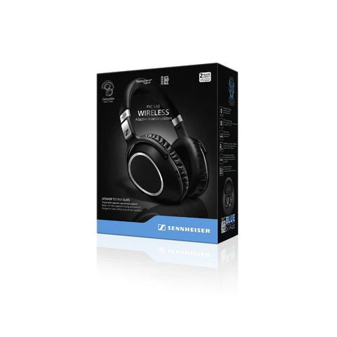 Sennheiser PXC 550 Wireless Bluetooth Closed-Back Adaptive Noise Cancelling Headphones - headphones.com