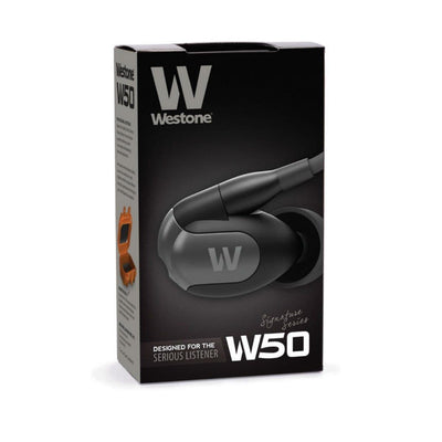 Westone W50 Five-Driver with 3-Way Crossover In-Ear Monitor Headphones