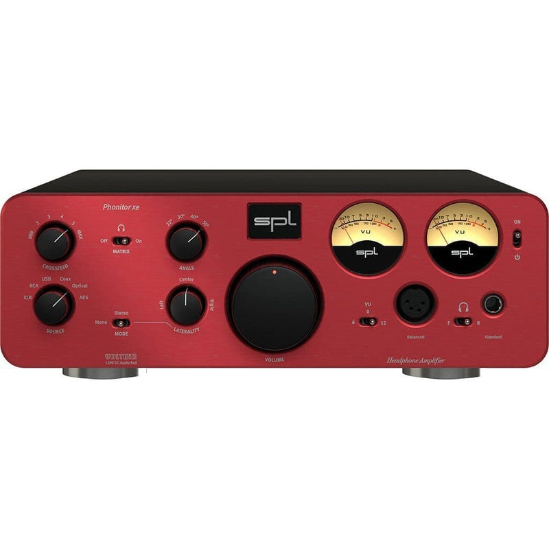 SPL Phonitor XE Headphone Amplifier - Open-Box Headphone Amplifiers SPL Red No