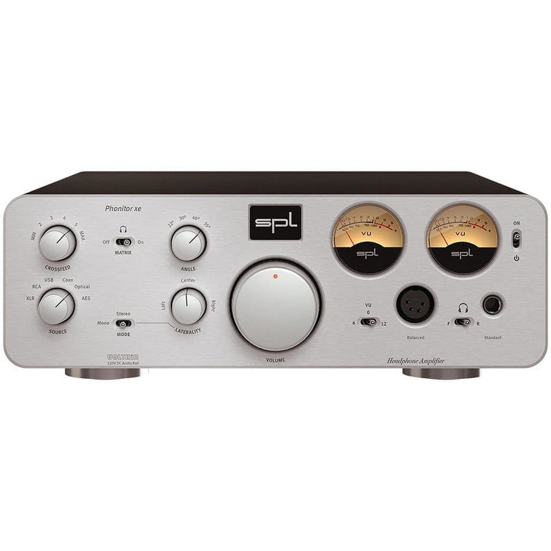 SPL Phonitor XE Headphone Amplifier - Open-Box Headphone Amplifiers SPL Silver No