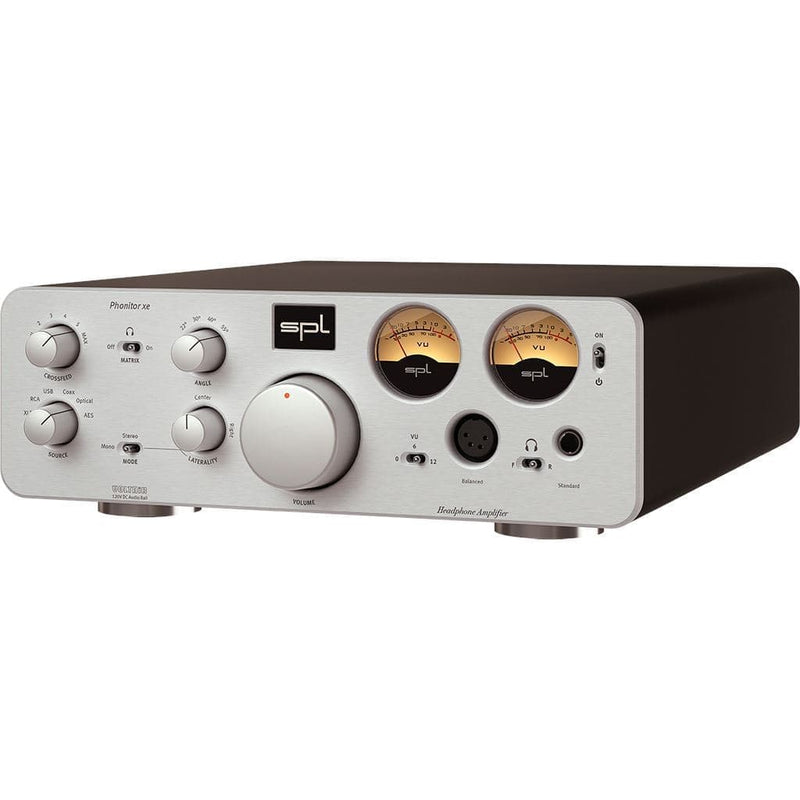SPL Phonitor XE Headphone Amplifier - Open-Box Headphone Amplifiers SPL Silver Yes
