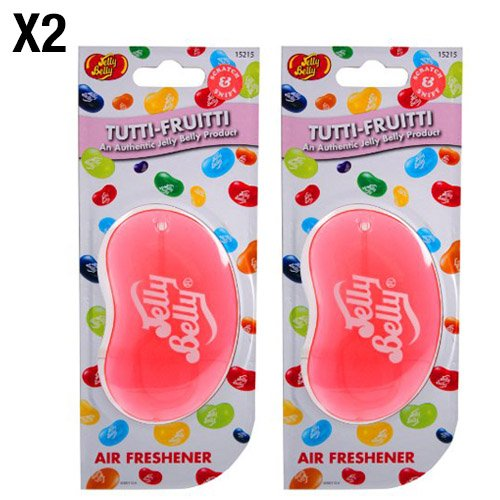 Jelly Belly 15215 3D Air Freshener-Tutti Fruitti - Super Tyre Tec