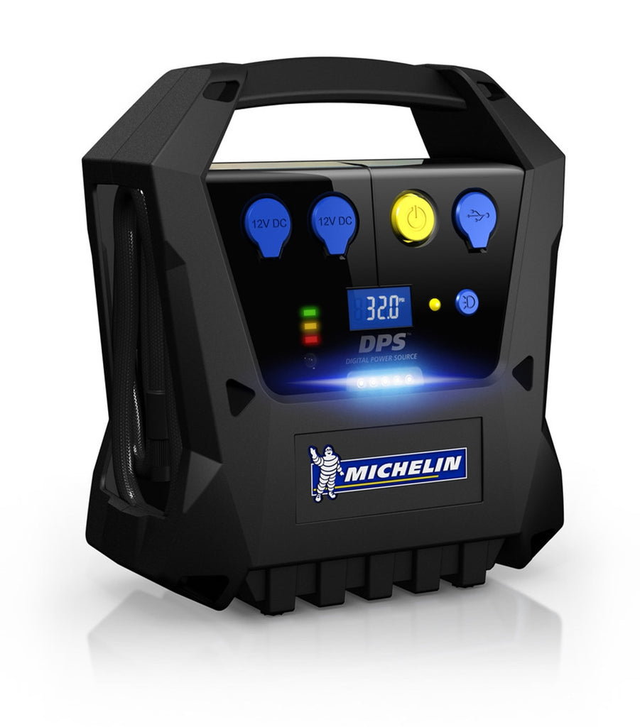 Michelin Cordless Rechargeable Tyre Inflator (Black) - 12267