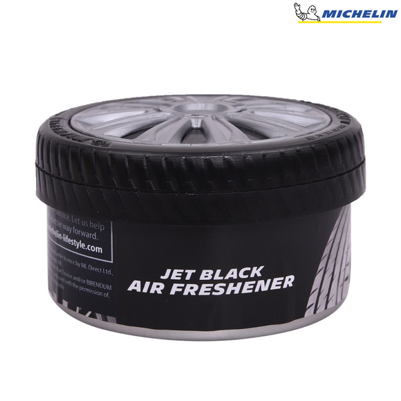 MICHELIN  87817 Organic Can - Air Freshner - Jet Black Fragrance