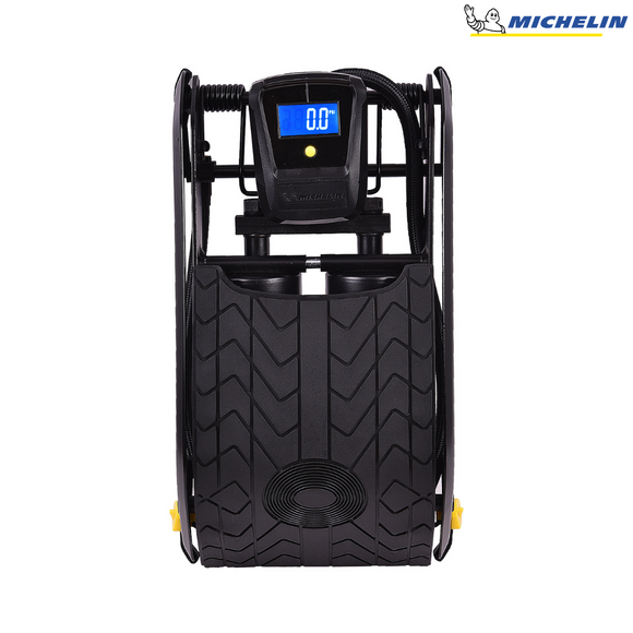 MICHELIN 12209 Digital Double Barrel Foot Pump