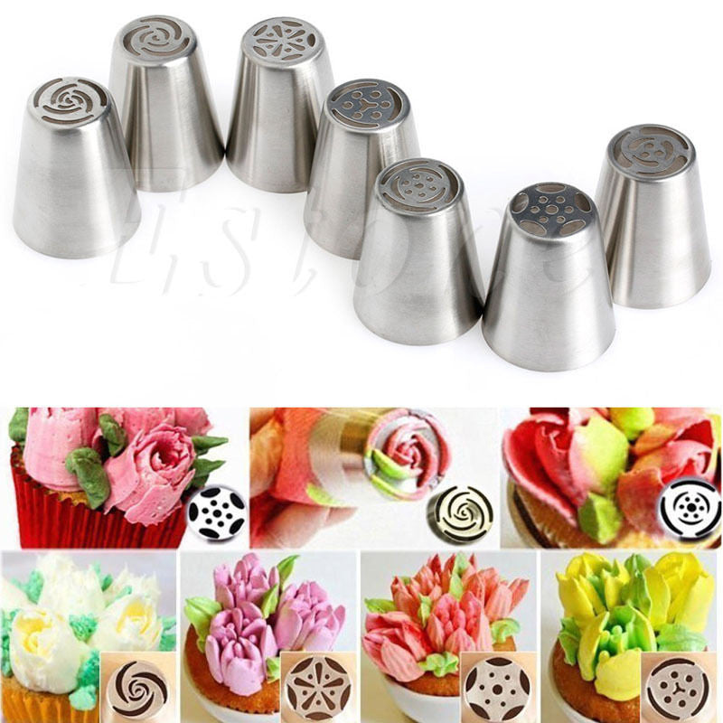 FLOWER GARDEN Cake Decoration Nozzles