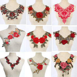 LOVE& LACE Embroidered Collars