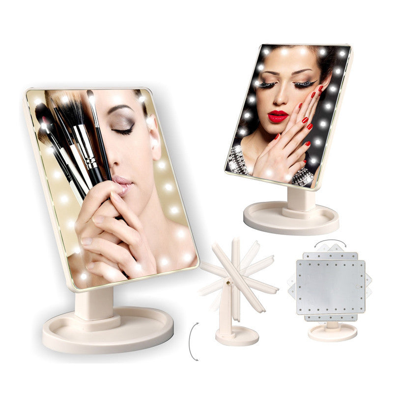 HOLLYWOOD Cosmetic Mirror with LED Lights