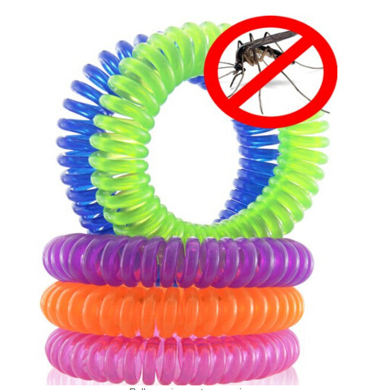 GO AWAY Mosquito Repellent Wrist Band (10 pieces)