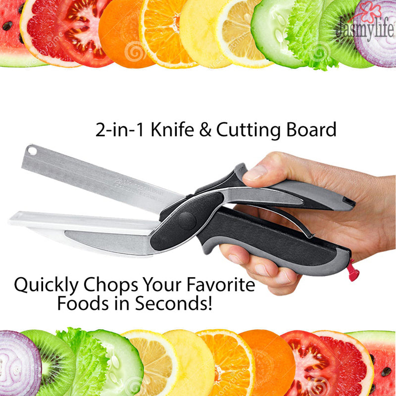 CLEVER CUTTER 2-in-1 Scissors