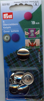 Cover Buttons (Sizes from 11mm to 38mm)
