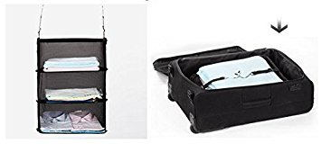 3 Layers Portable Travel Storage Rack Holder