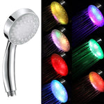 LED Rainbow Shower Head
