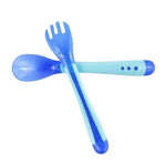 Heat Sensing Baby Spoon - Set of Spoon and Fork