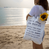 """how to change the world"" tote bag (CF)"