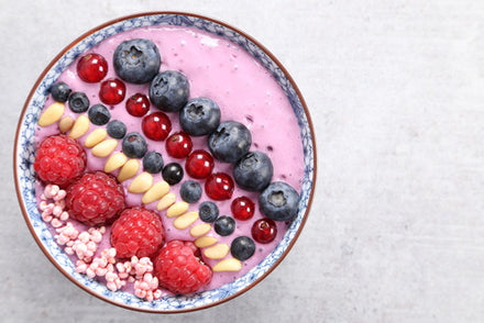 Blueberry Smoothie Bowl