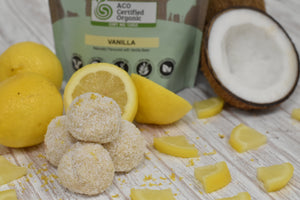 Lemon Bliss Proganics Protein Balls