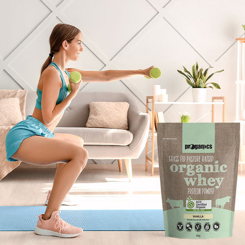 Organic Whey Protein Powder