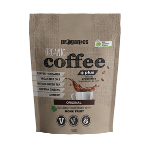 Organic Coffee Plus 150g 15 Serves