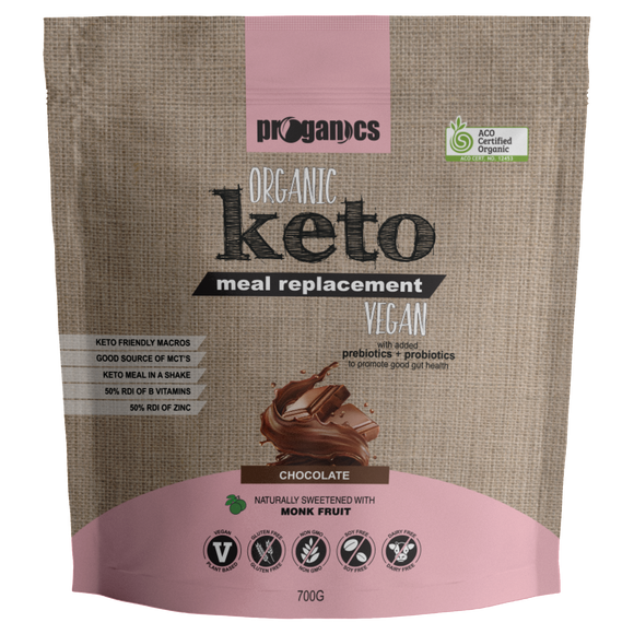 Organic Keto Meal Replacement 700g 14 Serves