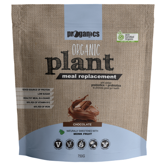 Organic Plant Meal Replacement 750g 15 Serves