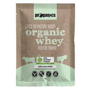 Organic Whey 30g Single Serve Sachet