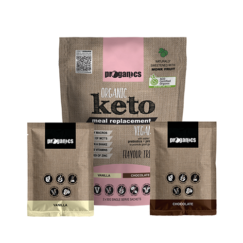 Organic Keto Meal Replacement Trial Pack
