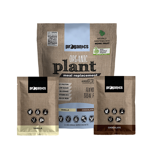 Organic Plant Meal Replacement Trial Pack