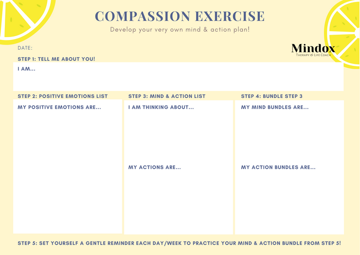 Compassion Exercise (Adjusting to a new norm ver.)