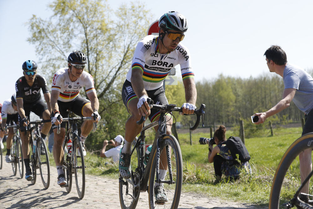 Two punctures prevented Peter Sagan from contesting the win in 2017 Paris-Roubaix