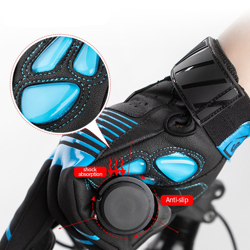 Full Finger Gel Liquid Silicone Bicycle Gloves