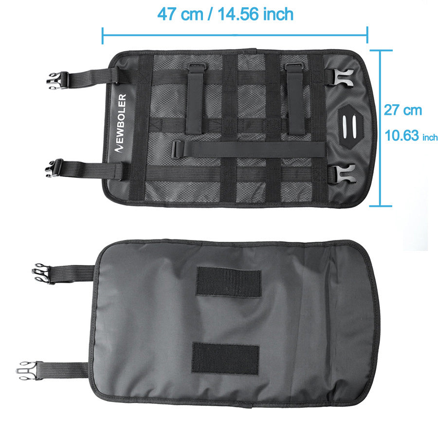 Waterproof Bicycle Handlebar Front Tube Bag