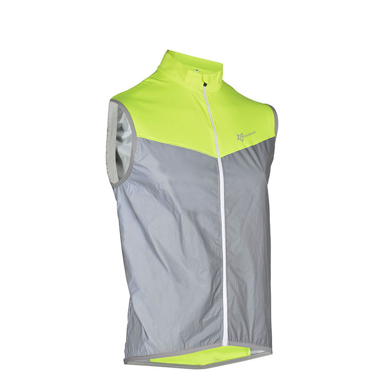 Reflective Sleeveless Cycling Vest