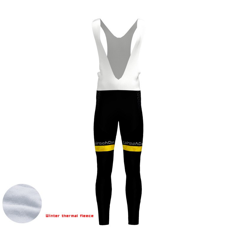 2019 Padded Coolmax Gel Winter Thermal Long Bib Pants