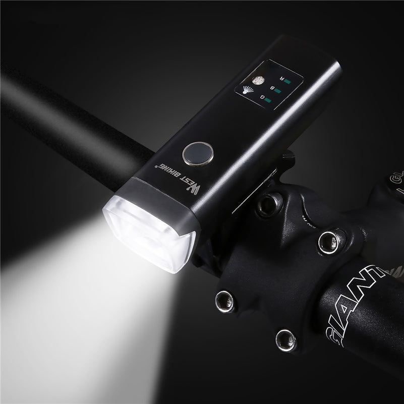 Intelligent Bicycle Light with Sensor Auto Lamp