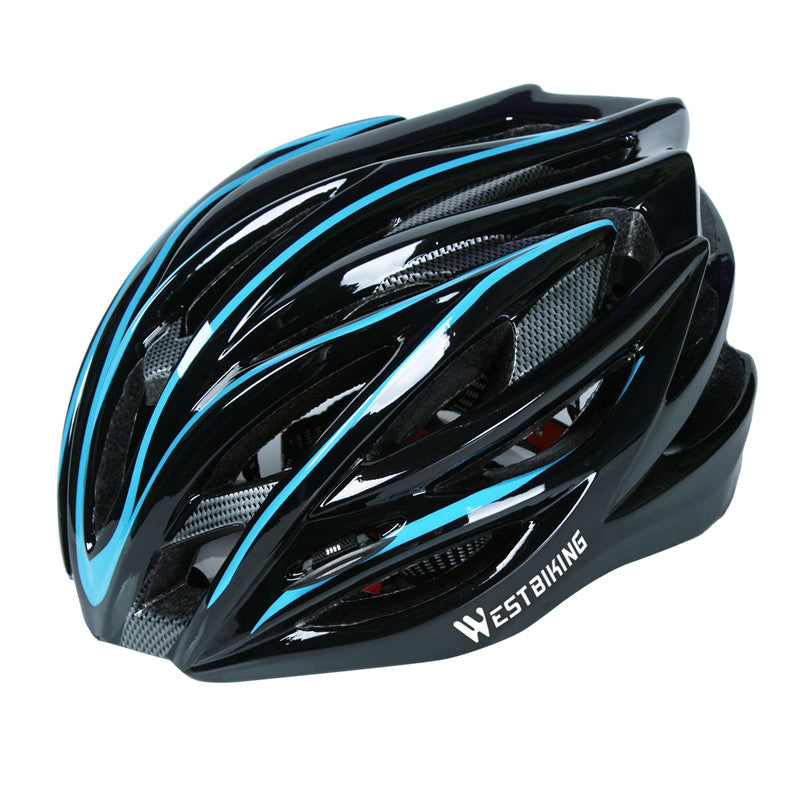 Ultralight Integrally Molded Bicycle Helmet